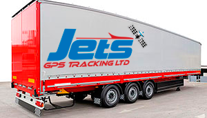 Jets GPS Battery Powered Trailer Tracker